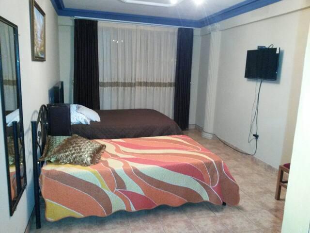 Vista de habitación privada en suit