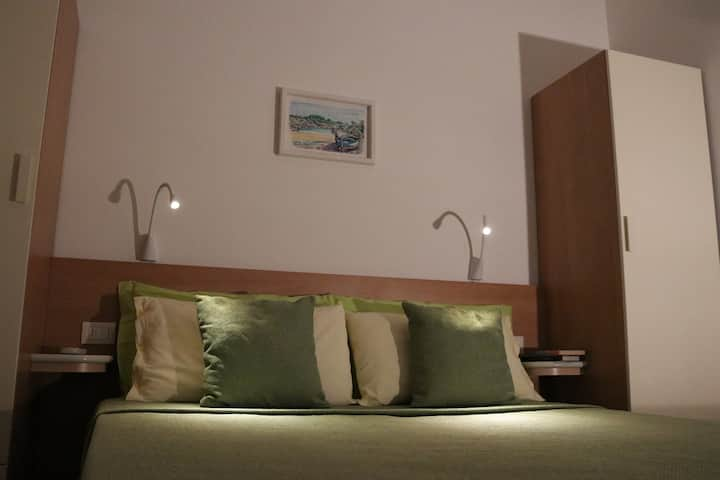Vacanze vicino a Otranto in b&b, camera Sea wind