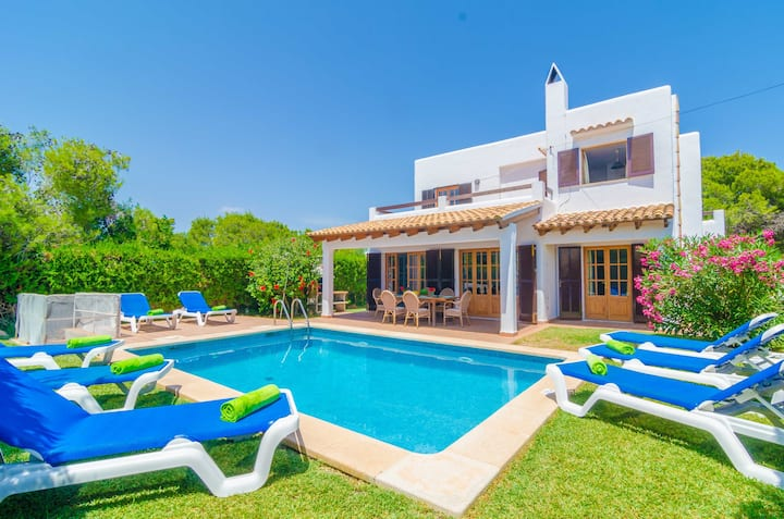 CA NA MARTINA - Villa with private pool in Cala d'Or. Free WiFi