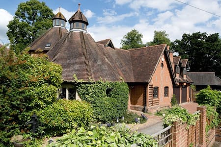 Impressive Grade II Listed house - Leigh - Huis