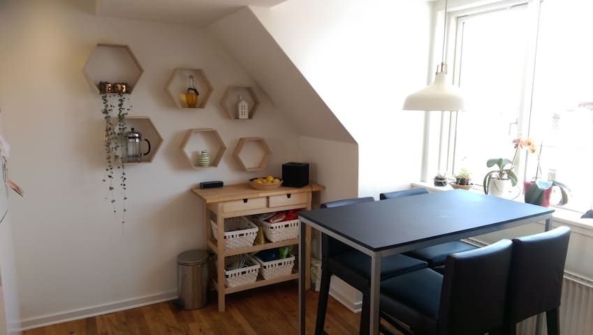 Central and spacious loft apartment - Aarhus - Leilighet