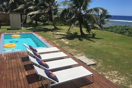 Pouara Ocean View Villa - Matavera District - Haus