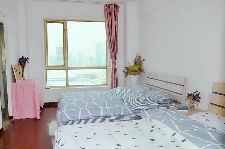 环岛路会展中心望海【温馨海景】2-4人标间 - Xiamen Shi - Apartamento