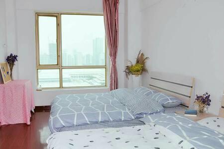 环岛路会展中心望海【温馨海景】2-4人标间 - Xiamen Shi - 아파트