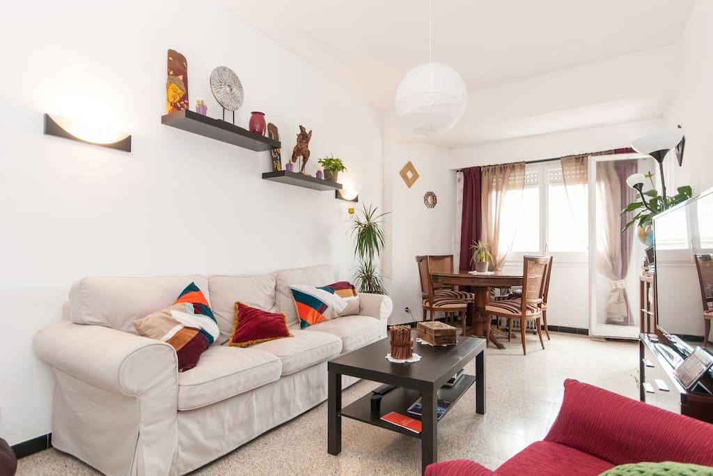 bonita habitaci n perfecta zona chambres d 39 h tes louer barcelone ct espagne. Black Bedroom Furniture Sets. Home Design Ideas