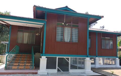 Malay Kampung House in Rembau Negeri Sembilan