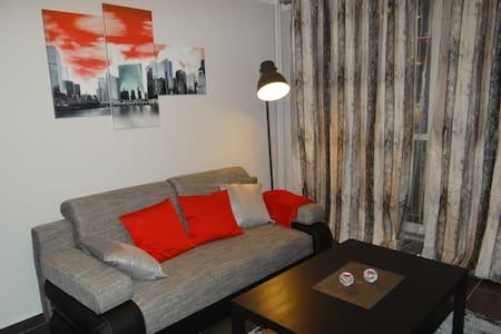 Kaskada Centrum Apartment - Graphite - Szczecin