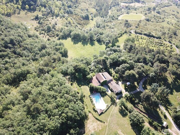 Le Gite rural de Bergnes à l'ombre des grands pins