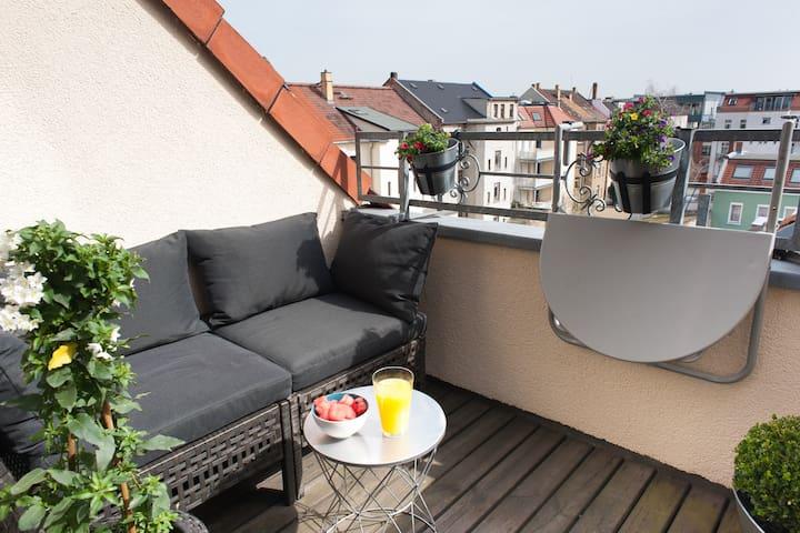 Coziness under Plagwitz' rooftops