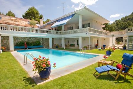 El Vergel, stunning lakeside Villa 1 hr Madrid. - La Alcarria