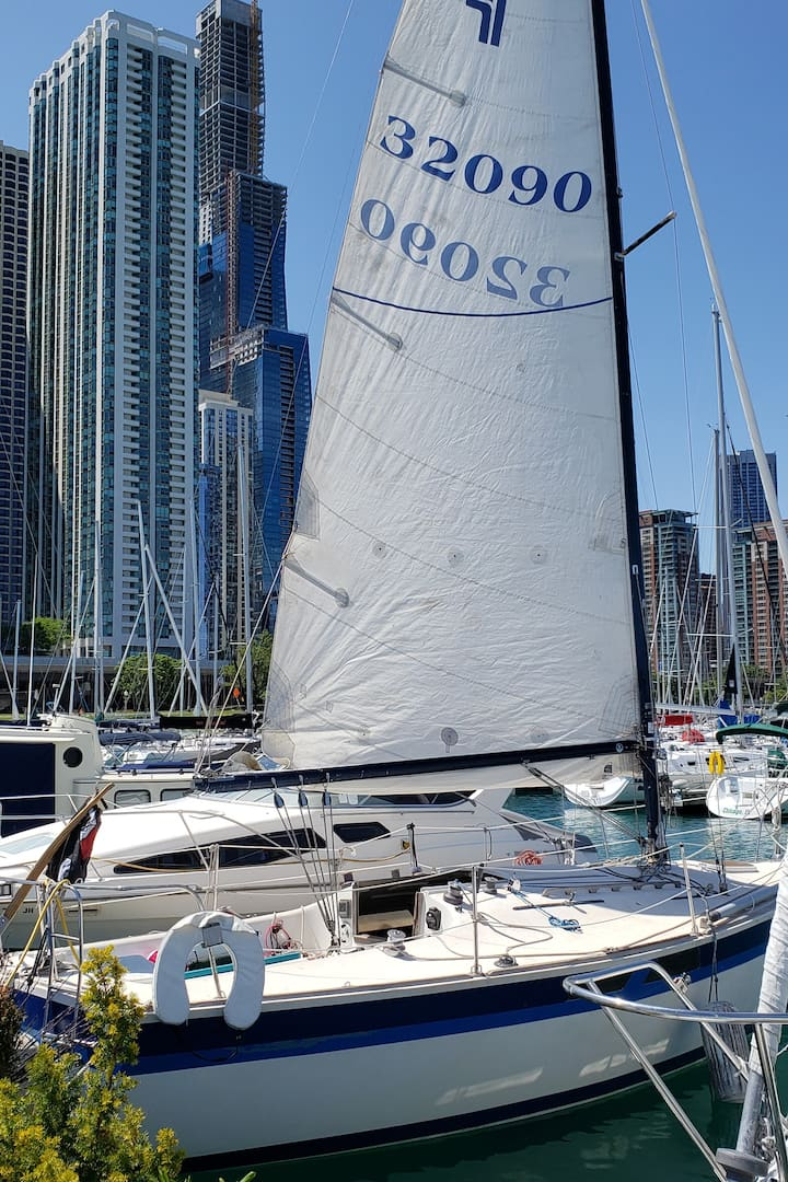 Our 30ft day sailor