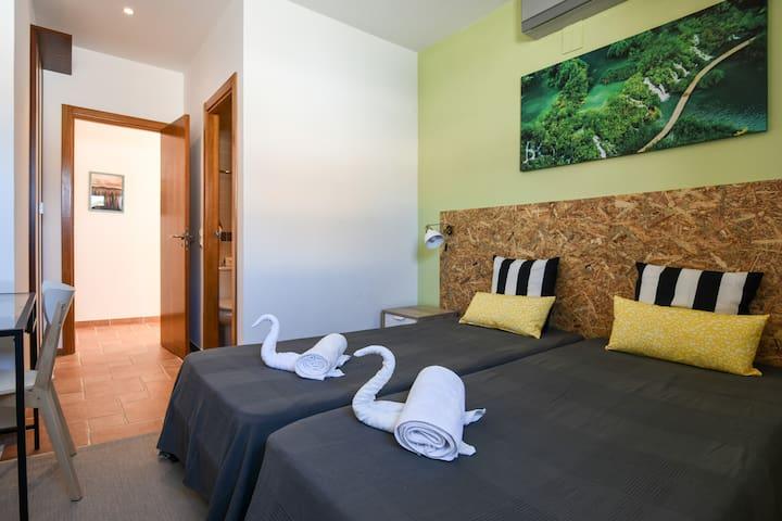 Pé Na Areia - Guest House - Quarto 9