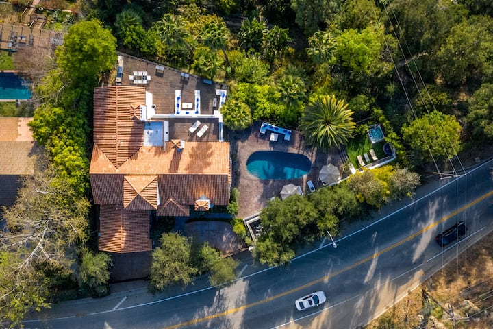 Spanish Villa Beverly Hills