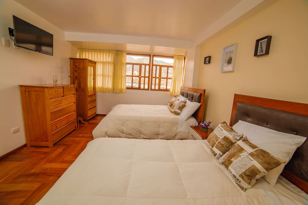 Private room & bathroom (matrimonial & one bed)