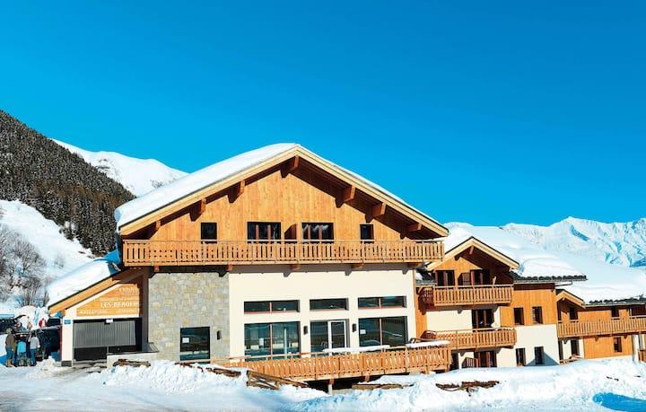 Appartement de Montagne Confortable | Wi-Fi GRATUIT, Local à Skis + Accès Piscine
