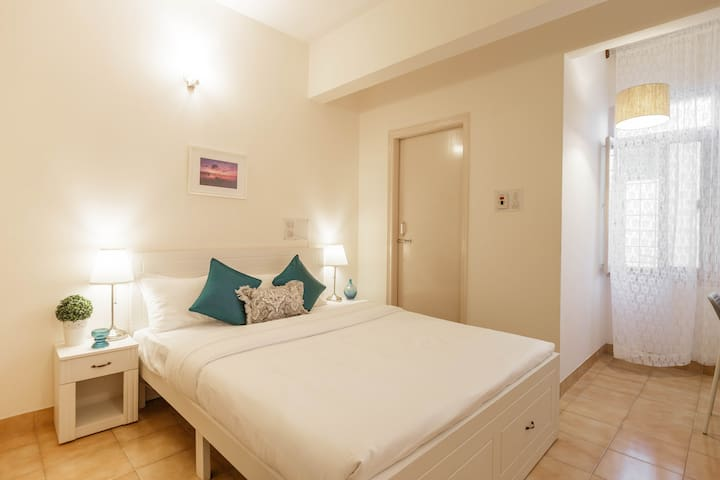 Guest Bedroom - This room has an attached bathroom and shower and is lush and luxurious
