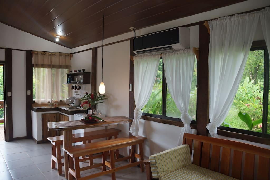 Comfortable cottages with large terraces - WI FI available - Washer - Dryer
