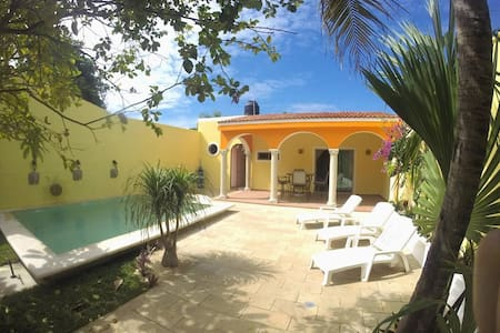 Home With Pool Near Merida Centro - Mérida - 独立屋