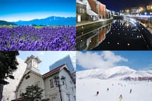 Hokkaido is a staple of the clock tower of Sapporo and the night view of Hakodate, Otaru Canal and Asahiyama Zoo, as well as historic buildings, the latest facilities, and an attractive tourist spot that you will want to visit again and again.