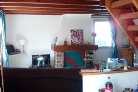 Maison avec terrasse et jardin - Sauzon - Hus