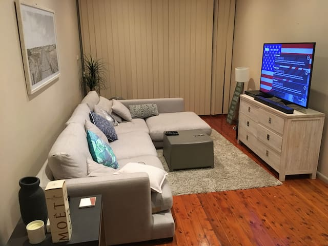Manly beach-side double room