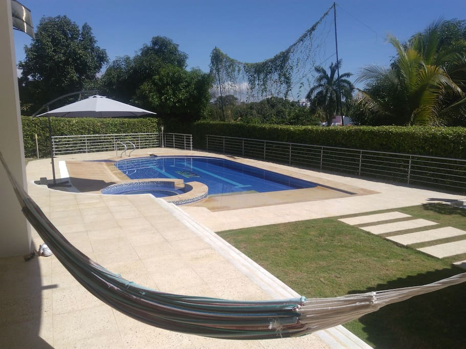 Fantastica casa con piscina privada en condominio case - Condominio con piscina milano ...