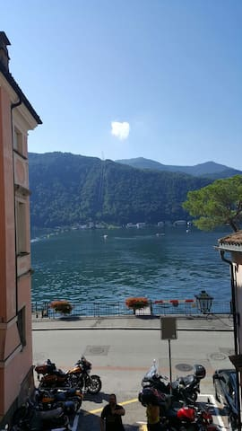 Full Lake View Apartment with Enormous Garden - Morcote - Apartamento