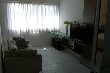 1 Quarto + Sofá cama, perto do Parque da Jaqueira - Recife - Διαμέρισμα