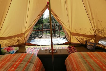 Calla Retreat - Glamping in style!  ~Bell Tent~