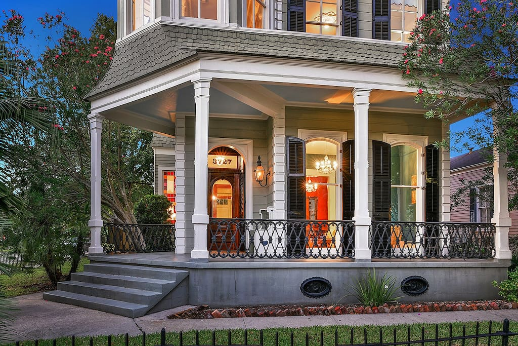 Victorian jewel with grand front porch.
