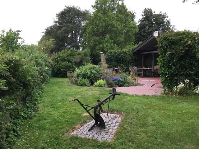 Haus Ille´s Kösel an der Nordsee mit großem Garten