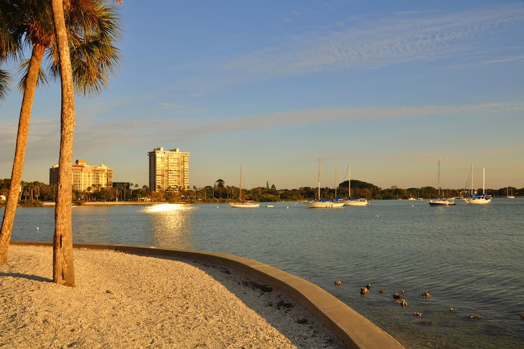Close to downtown Sarasota