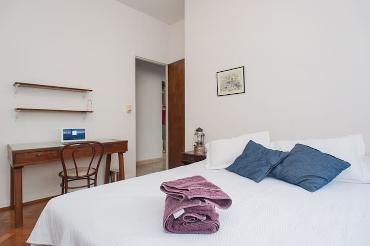 Wide and bright room in Palermo, BA