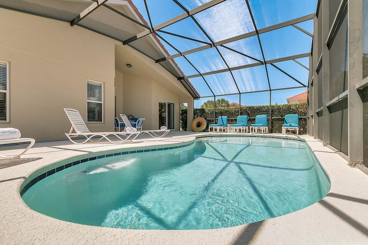 SO106CA - 4 beds pool home - Gated resort