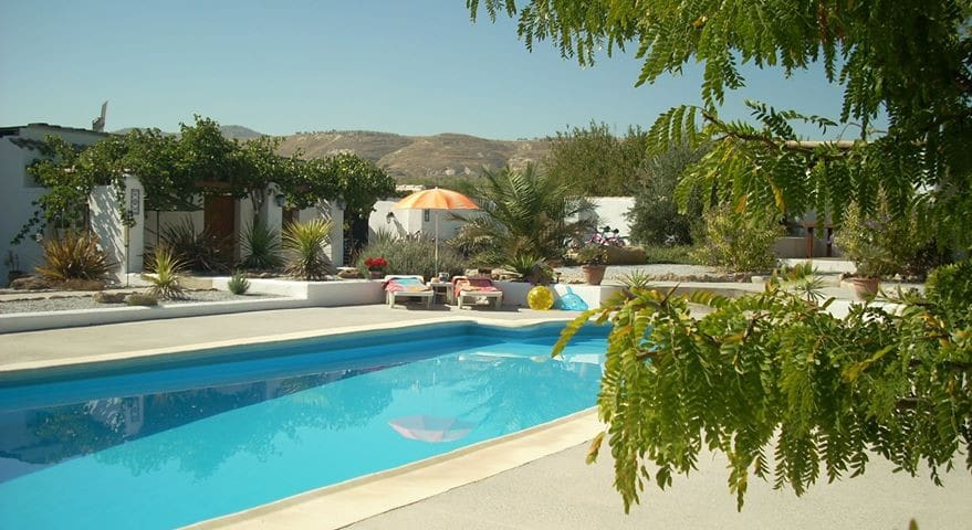 Cortijo Villa  in beautiful surroundings - Baza - Appartement