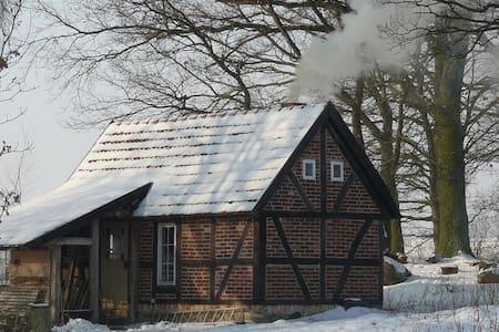 Badehaus am Feldrand - Hütte