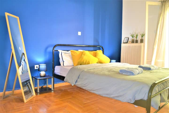Room in a co living apartment Zografou Athens