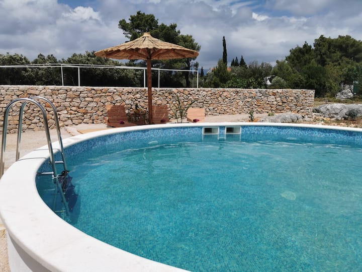 Amazing Secluded Villa Coral with Pool on Hvar !