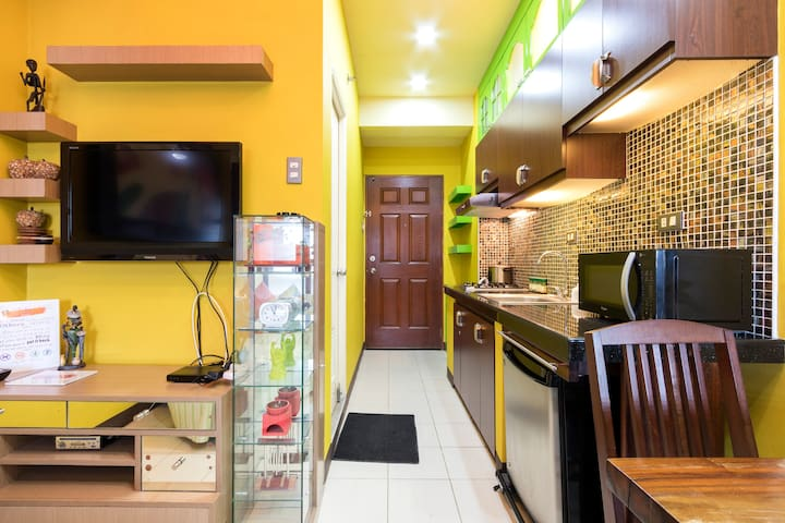 Cozy Studio in Ortigas Center in front of Galleria