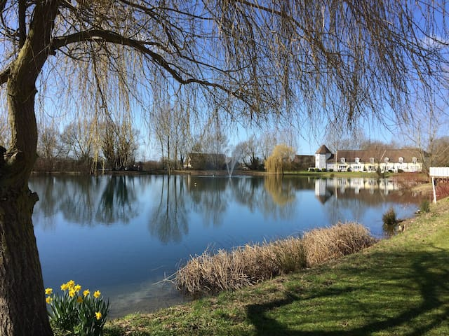 Lakeside cottage in Cotswold Waterparks - South Cerney - Dom