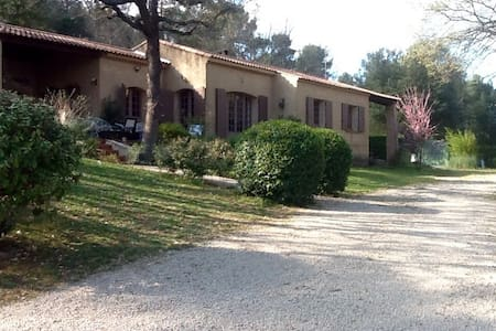 Maison 3 hectares jardin Provence - Ollières - House