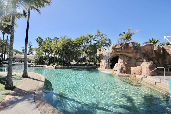 Fun Family Terrace Apt Diamond Beach Resort 122