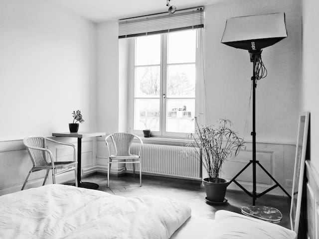 Solothurn: cozy room near the old town