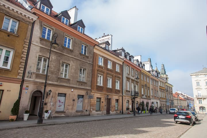 Design apartment in Warsaw old town
