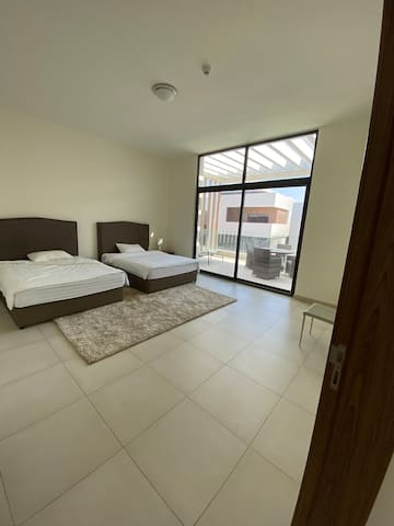Luxury furnished room suite in big clean villa