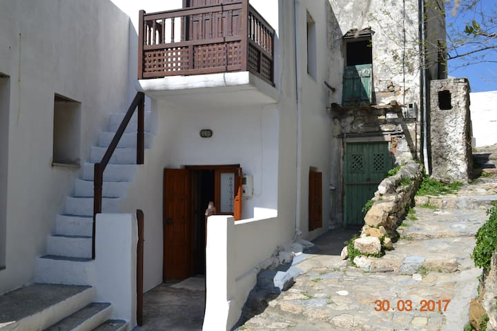 House entrance with small front yard