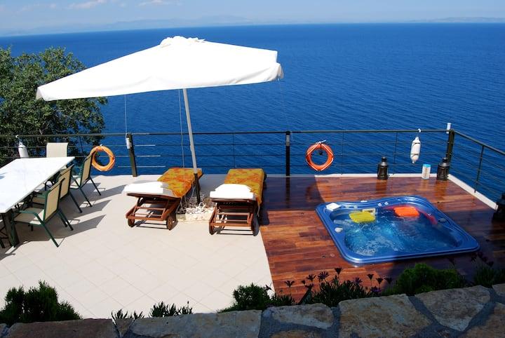 Magic view-Open air Jacuzzi-Holidays-Climbing
