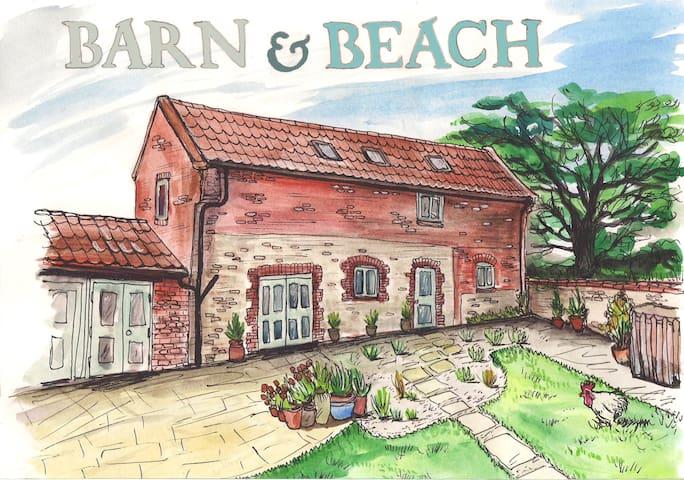 Book with Barn & Beach