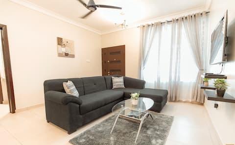 New Modern 2BR Apartment at Spintex