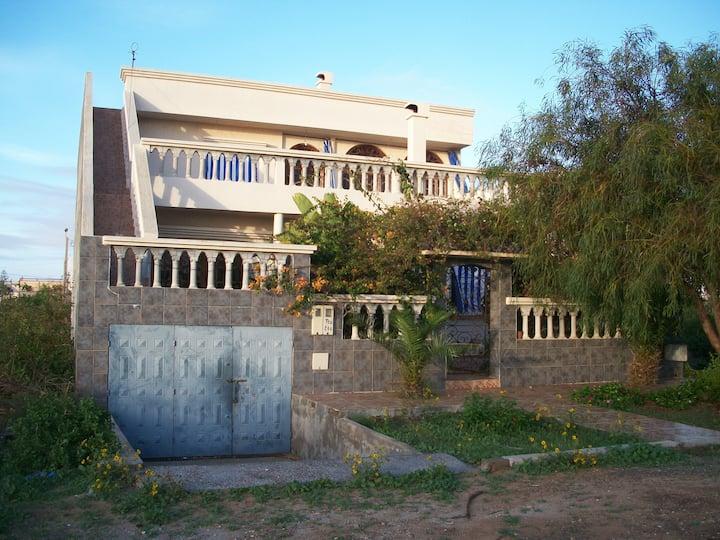 belle villa en bord de mer à 30 km de safi.